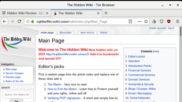 Hidden Wiki 40